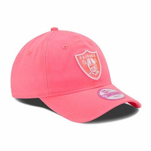Oakland Raiders New Era 9Forty Essential Pink Cap - Click to enlarge