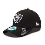 Oakland Raiders New Era 9Forty League Black Cap