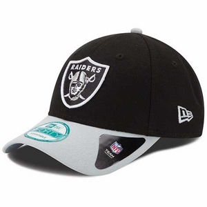 Oakland Raiders New Era 9Forty League Two Tone Cap - Click to enlarge