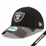 Oakland Raiders New Era 9Forty League Urban Camo Cap