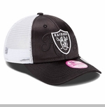 Oakland Raiders New Era 9Forty Shine Over