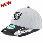 Oakland Raiders New Era 9Forty Visor Streak Cap