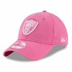 Oakland Raiders New Era 9Twenty Pink Preferred Pick
