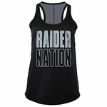 Oakland Raiders New Era Baby Jersey Racer Tank