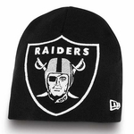 Oakland Raiders New Era Big One Too Knit Hat