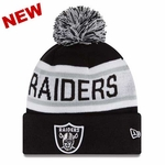 Oakland Raiders New Era Biggest Fan Redux Knit