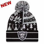Oakland Raiders New Era Boxed Link Knit