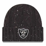 Oakland Raiders New Era Cable Frosted Knit