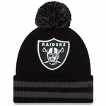 Oakland Raiders New Era Chiller Filler Knit