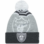 Oakland Raiders New Era Double Graphite Knit