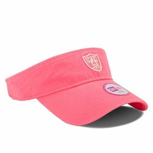 Oakland Raiders New Era Essential Pink Visor - Click to enlarge