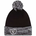 Oakland Raiders New Era Flurry Frost Knit