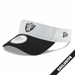 Oakland Raiders New Era Fundamental Visor