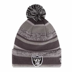 Oakland Raiders New Era Graphite Sport Knit