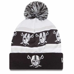 Oakland Raiders New Era Ka Nit Knit Hat