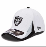Oakland Raiders New Era Kids 39Thirty Training Camp Cap