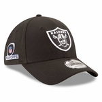 Oakland Raiders New Era League 2016 Playoff Patch 9Forty Cap