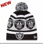 Oakland Raiders New Era Logo Wrap Knit