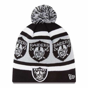 Oakland Raiders New Era Logo Wrap Knit - Click to enlarge