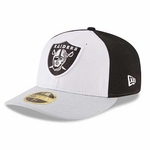 Oakland Raiders New Era Low Crown 59Fifty Front 'N Center Cap