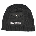 Oakland Raiders New Era Pocket Beanie
