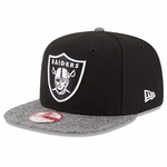 Oakland Raiders New Era Premium Snap