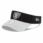 Oakland Raiders New Era Reversed Color Fundamental Visor
