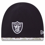 Oakland Raiders New Era Salute to Service Knit Hat