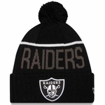 Oakland Raiders New Era Sideline Sport Fan Knit Black