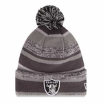 Oakland Raiders New Era Sports Cuffed Knit