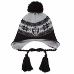 Oakland Raiders New Era Stay Toasty Knit