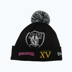 Oakland Raiders New Era Super Bowl Big Team Knit Hat