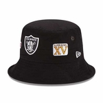 Oakland Raiders New Era Super Bowl Logo Adventure Bucket Hat