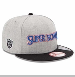 Oakland Raiders New Era Super Bowl XI Patch Snapback