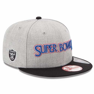 Oakland Raiders New Era Super Bowl XI Patch Snapback - Click to enlarge
