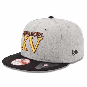 Oakland Raiders New Era Super Bowl XV Patch Snapback - Click to enlarge