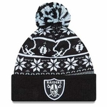 Oakland Raiders New Era Sweater Chill Knit Hat