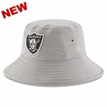 Oakland Raiders New Era Team Bucket Grey Redux