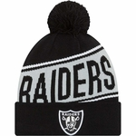 Oakland Raiders New Era Team Chant Knit