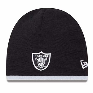 Oakland Raiders New Era Tech Knit Hat - Click to enlarge