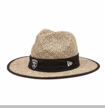 Oakland Raiders New Era Training Camp Straw Hat
