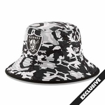 Oakland Raiders New Era Urban Camo Bucket Hat