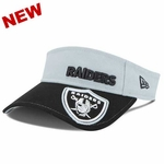 Oakland Raiders New Era Visor Dip