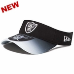 Oakland Raiders New Era Visor Graduation