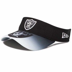 Oakland Raiders New Era Visor Graduation - Click to enlarge