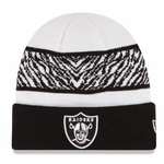 Oakland Raiders New Era Wild Break Knit Hat