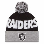 Oakland Raiders New Era Winter Fresh Knit
