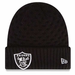 Oakland Raiders New Era Womens Cuffed Cutie Knit