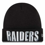 Oakland Raiders New Era Womens Frost Knit Hat