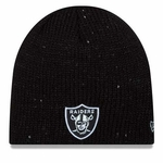 Raiders New Era Womens Glistener Knit